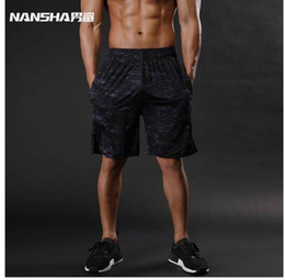 Wholesale criss cross tights - NANSHA Brand Mens Compression Shorts Summer Python Bermuda Shorts Gyms Fitness Men Cossfit Bodybuilding Tights Camo Shorts