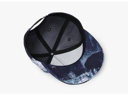 Envío gratis Original diseño 3D impresión hombres mujeres pareja gorra de  béisbol primavera verano otoño sombreros calidad hueso Snapback Caps EH-422 cfdb385139a