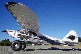 moteur rc nitro Promotion Avion FMS RC 1700MM 1.7M PA-18 Piper Super Cub Entraîneur Débutant Avion modèle PNP Sports Avion PA18 J3 J-3 (Flotteurs en option)