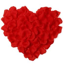 Canada 100pcs / lot soie pétales de rose pour la décoration de mariage, artificielle romantique pétales de rose fleur de mariage fleur rose 0196 Offre