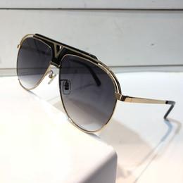 étui miroir de luxe Promotion Lunettes de soleil de luxe Z1030E pour mode unisexe MASCOT ovale 1030 conception Protection UV lentille revêtement miroir lentille couleur cadre plaqué viennent avec étui