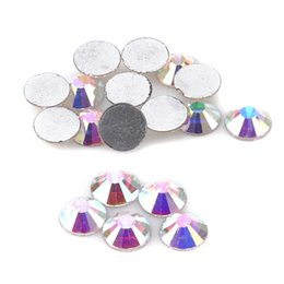 Flatback rhinestones aufkleber online-1 pack Kristall Nail art Strass 3d Charme Glas Flatback Nicht Hotfix DIY Nagel Schmuck Aufkleber Dekorationen Nägel Aufkleber