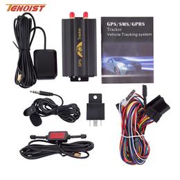 Alta calidad Coban GPS103A Tk103A en tiempo real Geo-Fence Alarma GSM GPS Mini Car Tracker Alarm Con caja al por menor desde fabricantes