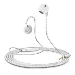 Wholesale Chinese Universal Remote Control - Headset universal for xiaomi Huawei phone earbuds in-ear remote control headset with microphone 3.5mm new