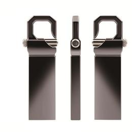 finger usb flash Promotion Capacité totale en métal argenté 32GB Clé USB 8 Go de disque U Tache de stylo en acier Lecteur de pouce étanche Stockage suffisant de mémoire Stick pour PC