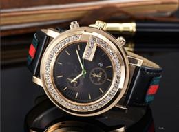 Reloj vintage mujer online-Marca Señoras Reloj Hombres Correa de Cuero Amantes Casuales Relojes Reloj de pulsera de Cuarzo Reloj de Mujer Reloj Relogio