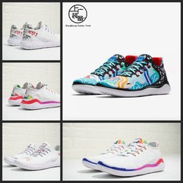 Wholesale cotton mesh shirts - 2018 New Flabjacks X Novo Free Run RN T-SHIRT Ton Mak AH3966-106 Designer white City Graffiti Running Shoes Mens Women Sneakers 36-44