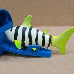 Wholesale Radio Fishing - Coke Can Radio RC mini ELECTRIC Electronic Shark fish Boat Kids Toy Submarine