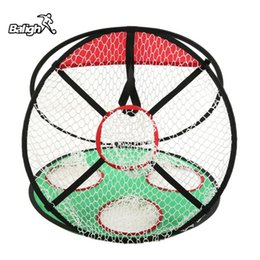 Wholesale Golf Equipment Free Shipping - Balight Outdoor Sport Portable Golf Practice Ball Net Golf Training Sports Equipment Hitting Nets Shipped From USA Free Shipping