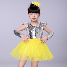 538f25630f New Kids Jazz dance Outfit Clothing Child Boy Sequin Hip Hop Modern Dance  Costume Sexy Jazz Costumes Dress For Girls jazz dresses for dance on sale