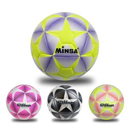 Wholesale Quality Soccer Balls - New Brand High Quality A++ Standard Soccer Ball PU Soccer Ball Training Balls Football Official Size 5