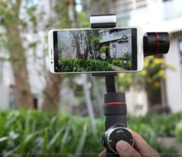 2019 стабилизатор смартфона V5 Hand held gimbal smartphone video stabilizer Three axis Portable Handheld Gimbal Horizontal Vertical Shoot / Face Tracking скидка стабилизатор смартфона