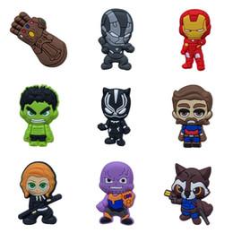 2019 aufkleber kühlschränke Avengers Infinity War Kühlschrankmagnete Kreative Cartoon PVC Home Decoration Kühlschrankmagnete Tafel Aufkleber Kinder Geschenke Freies Verschiffen günstig aufkleber kühlschränke