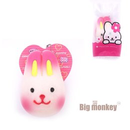 Wholesale Kawaii Bamboo - New slow rising Kawaii rabbit cute packaging Squishy Charm