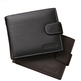 Wholesale buckle shorts - Tyeer@ Men's wallet leather short retro zipper buckle wallet new wallet coin bag