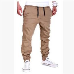 2019 calças homens tamanho barato Calças dos homens finas calças de menino adolescente 2017 nova primavera masculina casual reta saúde calças baratas estudante plus size M-XXXL desconto calças homens tamanho barato