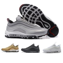 detailed look 6b4ae a5f4f Nike Air Max 97 basketball shoes designer shoes Scarpe casual all ingrosso  97 Zero QS per le scarpe da uomo di alta qualità Moda Uomo Donna all aperto  ...
