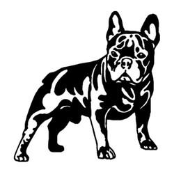discount bull sticker car bull sticker car 2019 on sale at dhgate American Bully bull sticker car 2019 15 8 16 3cm french bull dog vinyl decal cute car