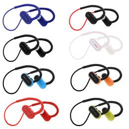Wholesale phone bluetooth earpiece - G15 Bass Sport Headset Universal Bluetooth Earphones Waterproof Headphones Stereo Earpieces Earbuds G5 brand power 3 With Mic 50pcs