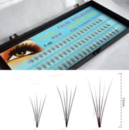 Canada cils 5 racines, cils, extension de cils individuels en soie faux vison 0.07C Curl 8-14mm supplier silk individual eyelash extension Offre