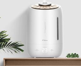 Canada Deerma DEM-F600 mini-humidificateur d'air de bureau 5L Aromathérapie bureau chambre humidification de l'air à domicile atomisation blanche Offre