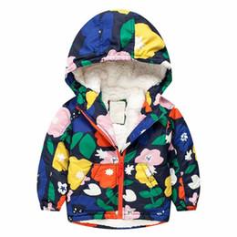 Wholesale girls kids parka jacket - BibiCola Baby Coat Children Outerwear Coat Boy down Jacket Girls Coat Hooded snowsuit Children's Kids windproof Clothes Parkas