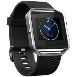 Smart Watch Wrist Watches Il cinturino in morbido cinturino in silicone è un orologio intelligente più intelligente per Fitbit da