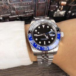 2b3ebaa8dc0 relógio wa Desconto Atacado New luxo top quality mens watch mostrador preto  azul e preto aro