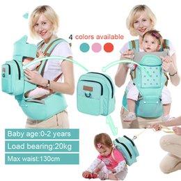 Wholesale Infant Carry Bag - New Design Baby Carrier Multifunction Toddler Backpack Sling Infant Hip Seat Newborn Kangaroo Hipseat With Diaper Bag