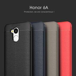 2019 huawei чехол ударопрочный чехол Роскошный противоударный Мягкий силиконовый чехол TPU для Huawei Honor 6A cases Back кожаные чехлы для телефонов Huawei Honor 6C Pro Case Cover скидка huawei чехол ударопрочный чехол