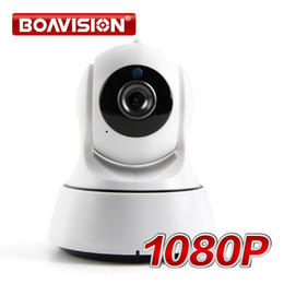 Wholesale Wireless Cctv 2mp - Boavision 1080P WIFI IP Camera Wireless Pan Tilt IR-Cut Night Vision Two Way Audio HD 2MP CCTV Surveillance Camera P2P Cloud APP View