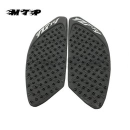 Wholesale Tank Protector Decals - Tank Pad Sticker Protector Gas Knee Grip Tank Traction Side Decal For Yamaha R1 YZF YZFR1 YZF-R1 2009-2014 2013 2012 2011 2010