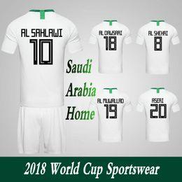 Canada Vêtements Vêtements Survêtements Arabie Saoudite Équipe nationale Accueil Football Combinaisons sportives 2018 Coupe du Monde Football Uniformes Shorts. Offre