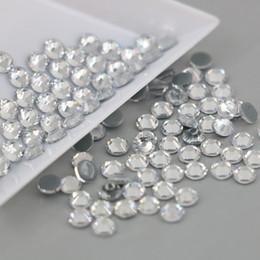 Wholesale Hot Pink Tops - Wholesale all Size Austrian Crystal HOTFIX Rhinestone 2028# Top Quality Flatback Hot Fix Rhinestones Xilion Rose(Crystal)