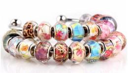2019 braccialetti nuovi prodotti Perle di cristallo a grande apertura perle di vetro perline braccialetto 24 design pattern opzionale nuovi prodotti braccialetti nuovi prodotti economici