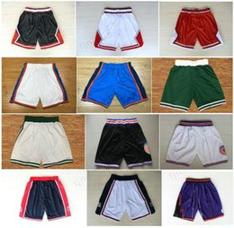 Wholesale Xxl Sweatpants - Mens Basketball Dream Teams Classic Shorts Space Jam Tune Squad Shorts Black White Sweatpants Sportswear Breathable Basketball Pant