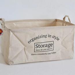 Großhandel gute Qualität Tuch Leinwand Falten Wäschekorb / zusammenklappbare Lanudry Korb Körbe / Home Falten Aufbewahrungseimer von Fabrikanten