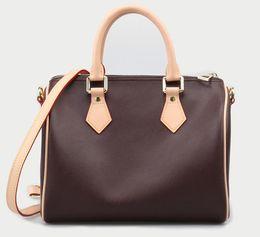 ec9692839f0c2 heißer Luxus top qualität marke Echtes leder Frauen Berühmte Handtaschen Designer  Umhängetasche mit schloss und datum code N40391 25 cm 30 cm 35 cm