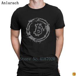 Effet Grunge Bitcoin T-shirts Original Design Le Nouveau T-shirt Hommes Printemps Automne Humoristique S-3xl Anlarach Fitness ? partir de fabricateur