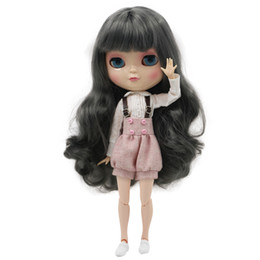 Wholesale Girls Factory - Free shipping Icy doll including shoes and clothes long hair 30cm like factory blyth toy doll joint body joint