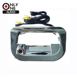 Wholesale reverse camera for toyota - Car Wide Angle Lens Rear View Reverse Camera Tailgate Cover for Toyota Hilux Vigo 2005~2008 2009 2010 2011 2012 2013 2014 2015