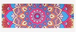 Tovaglietta per lo yoga ad alta temperatura con tappetino in gomma scamosciata Yoga Yoga. Sublimazione transfer a sei colori da