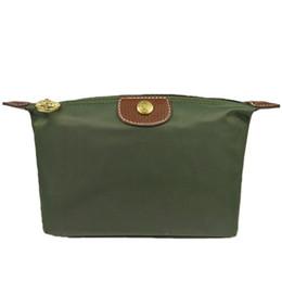 Bolso verde del ejército online-Monedero Bolsa de almacenamiento Venta caliente moda Mujeres nylon carteras de lujo famosa marca Change Army Green girl Beige Black monedero mujeres de buena calidad