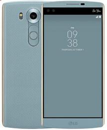 Teléfono celular de 5.7 pulgadas online-Reacondicionado Original LG V10 4G LTE H961N H900 H901 5.7 pulgadas Hexa Core 4GB RAM 64GB ROM 16MP Cámara desbloqueada teléfono celular