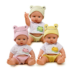 Wholesale Wholesale Reborn Baby Dolls - Doll Reborn Baby Dolls For Boy Doll Baby Born Toys For Kids Gift Realistic Silicone Reborn Dolls 1 12 Soft Toy boy