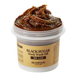 confezione di pelle nera Sconti SKIN FOOD Black Honey Honey Mask 100g Wash Off Pack Coreano esfoliante CURA DELLA PELLE