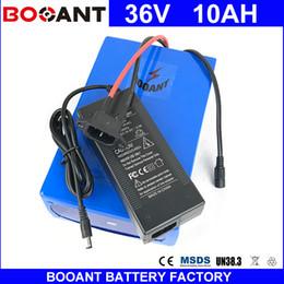 BOOANT 36V 10AH Pour Bafang 850W Moteur E-Bike Batterie Li-ion 36V Scooter Batterie 10AH EU Douche Libre US avec chargeur 2A ? partir de fabricateur