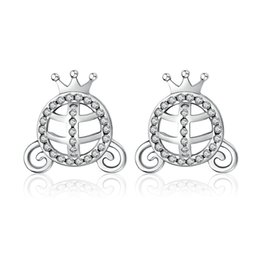 Wholesale Head Gems - mouse head 925 silver earrings natural gem wholesale fashion small sterling silver jewelry women s925 silver earings S925 studs