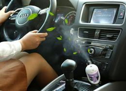 2019 óleo de fragrância para difusor Umidificador de carro USB Plug Fresco refrescante fragrância ehicular óleo essencial ultra-sônica umidificador névoa Aroma difusor carro óleo de fragrância para difusor barato