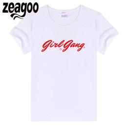 7d10ebe4b 2019 muchacha de la camiseta del ajuste zeagoo Manga Casual Basic Plain Crew  Neck Slim Fit